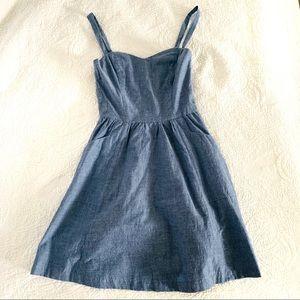 joie 〰️ chambray dress